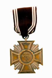 Бронзовый крест за 10 лет выслуги в НСДАП