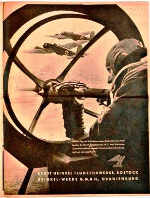 """Милая реклама завода """"Хенкель"""" из немецкого фронтового журнала """"Адлер"""", январь 1941 года."""