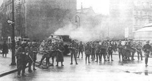 подавление восстания Союза Спартака в Германии