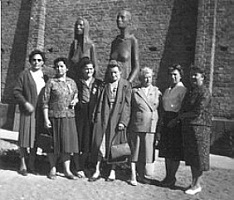 Бывшие узницы Равенсбрюка