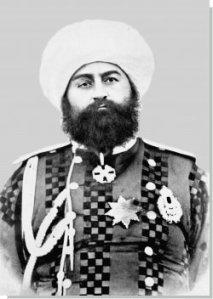 11-й эмир Бухары Сеид-Ахад-Богодур-Хан из династии Мангыт