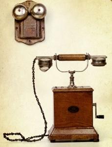 Телефон со звонком