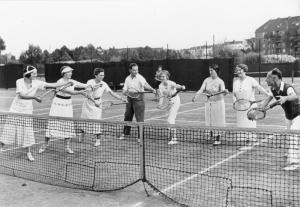 Спортивный досуг немцев в 30-е годы