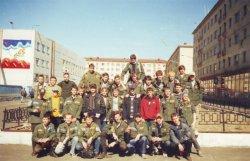 Стройотряд в Норильске. 1983 год