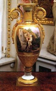 Фарфоровая ваза. ИФЗ