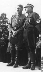Гитлер и Рем. 1933 год