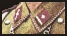 Петлицы обершарфюрера из полка «Фельдхеррнхалле»