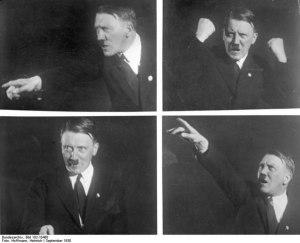 Постановочные снимки Генриха Гофмана