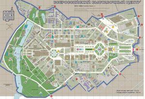 План ВДНХ 2014 год