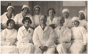 А.А. Бельский с коллегами