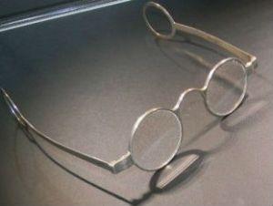 Очки с кольцами на концах дужек