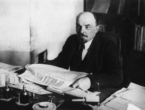 Lenin Holding an Issue of