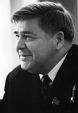 Министр рыбного хозяйства СССР Александр Ишков