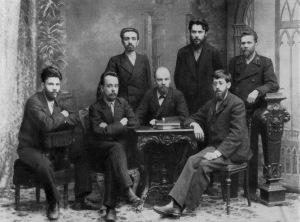 """Члены """"Союза борьбы за освобождение рабочего класса"""". 1895 год"""