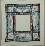 Сувенирный платок к Олимпиаде-40