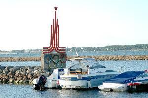 Яхт-центр в Таллине. Наши дни