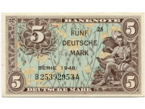 5 дойчмарок. 1948 год