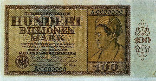 ТОП-5 самых крупных денежных купюр: секстиллион пенге и 100 биллионов драхм (фото)