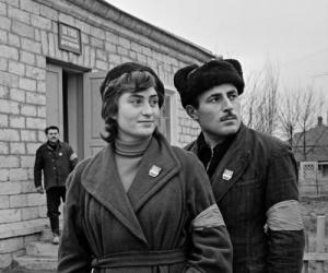 ДНД в поселке совхоза имени Алиева Дербентского района. 1961 год