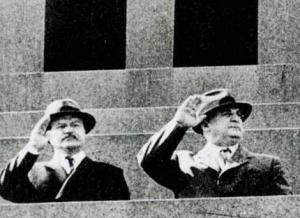 В. Молотов и Л. Берия