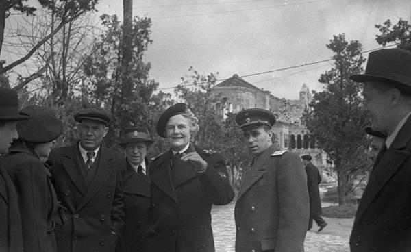 Клементина Черчилль в Крыму