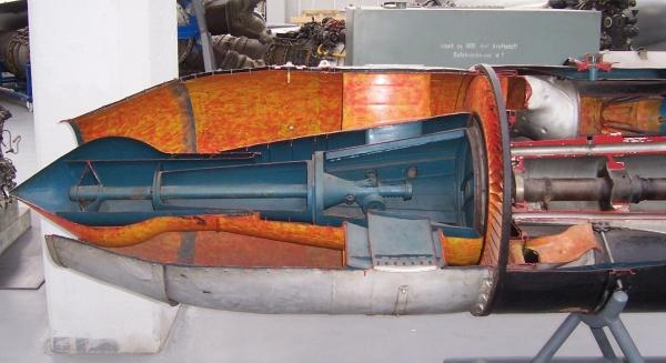 Двигатель Jumo 004 в Техническом музее