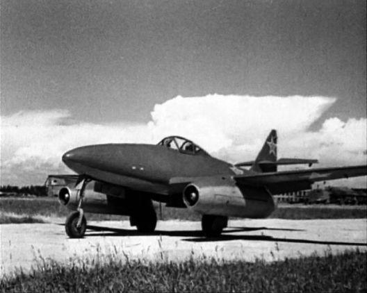 Ме-262 ставший советским истребителем
