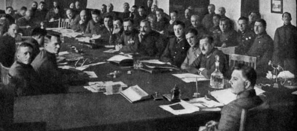 Заседание Реввоенсовета СССР