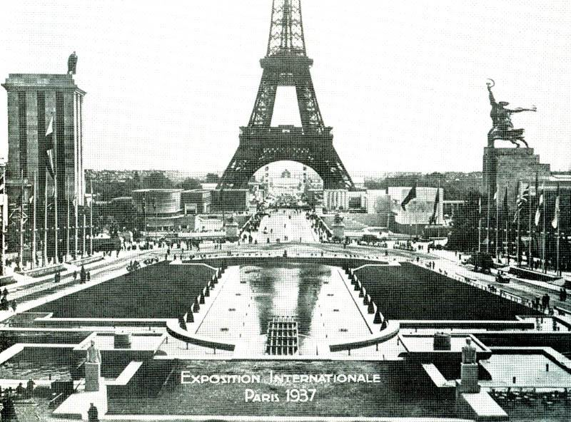 Советский павильон на Всемирной промышленной выставке в Париже 1937 года