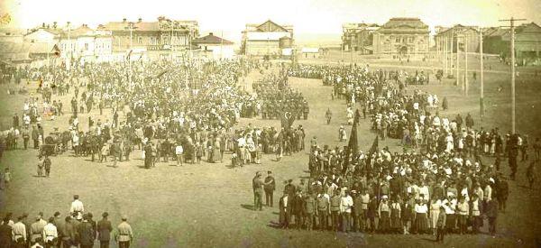 Город Энгельс. Советские немцы. 1930 год