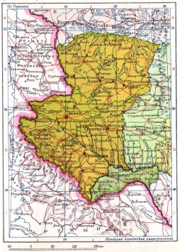УССР с присоединенными землями Восточной Польши