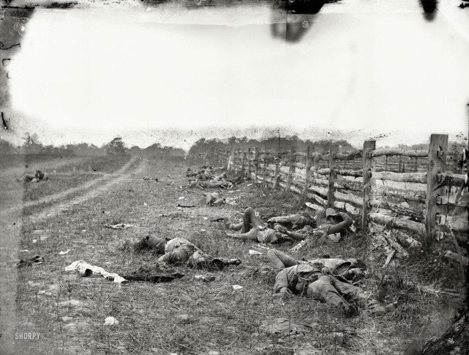 Сцены времен Гражданской войны в США