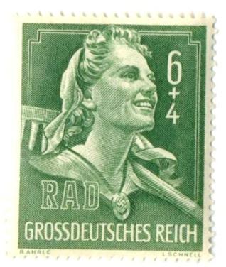 из серии «Немецкая выставка-ярмарка трудовых отрядов Германии»
