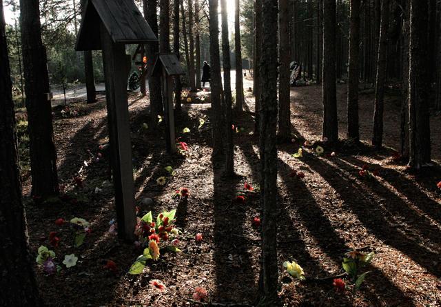 Место расстрела и захоронения на Беломорканале (пятый-шестой шлюзы) Фото: Олег Климов