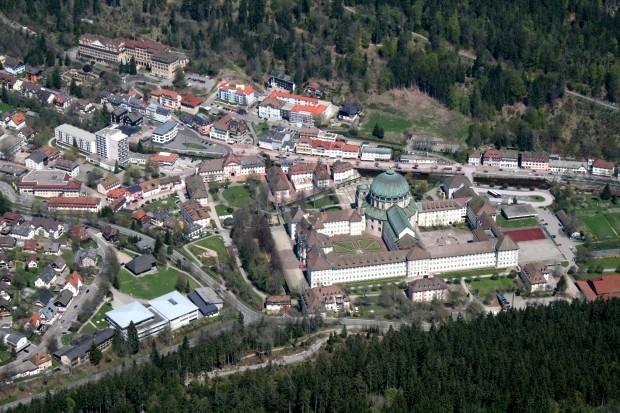 городок Санкт-Блазиен в наши дни