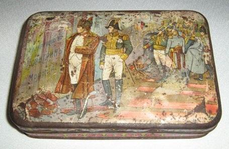 Коробка монпансье к 100-летию победы над Наполеоном