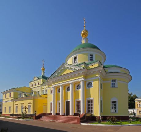 бывшая Сухановская тюрьма сегодня - снова монастырь.