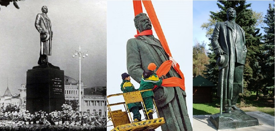 """Судьба памятника: триумф в 1953-ем, снос в 2005-ом и последнее пристанище в парке """"Музеон"""""""