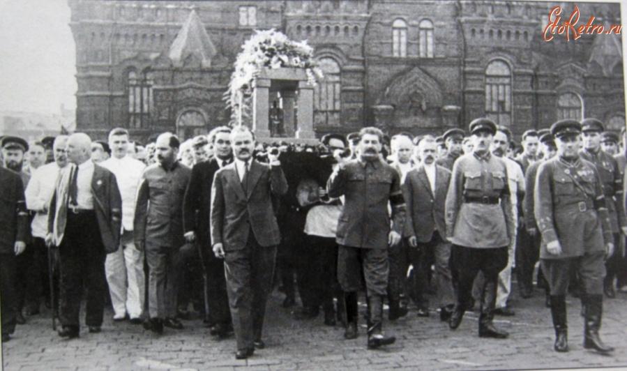 Похороны Максима Горького