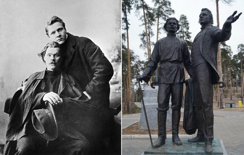 Друзья Горький и Шаляпин: в жизни и в бронзе