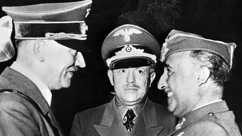Франко было не просто сдержать наступательный порыв фюрера к Средиземному морю