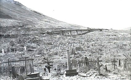 Кладбище НорильЛАГа. 1943 год