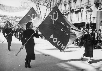 Несмотря на все старания СССР, POUM в Испании так и не запретили