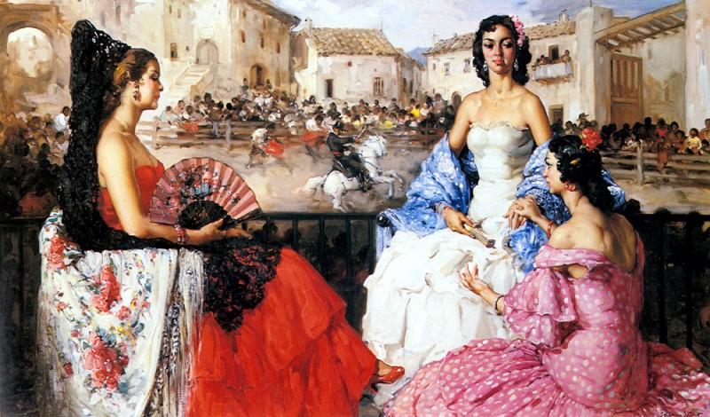 Русские мужчины никогда не скупились на эпитеты в адрес испанских женщин