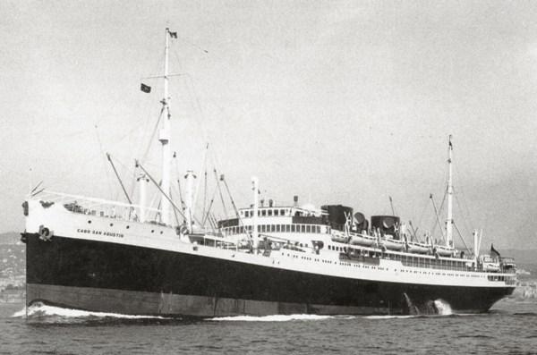 Лайнер «Cabo San Agustin»