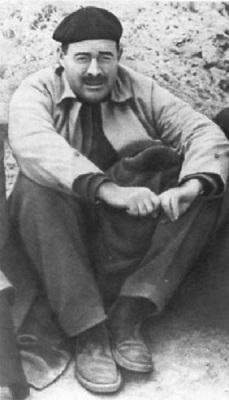 Эрнест Хэмингуэй в Испании. 1937 год