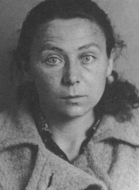 Мария Остен. Снимок из следственного дела. Последний