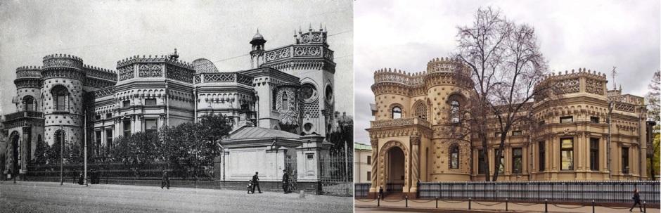 Дом на Воздвиженке: в XIX веке и в наши дни