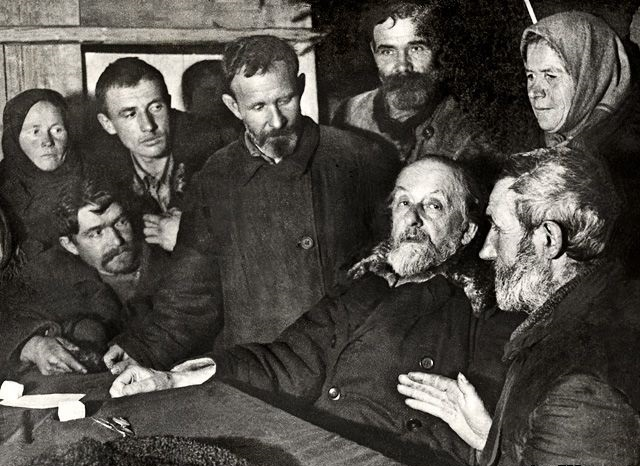 Циолковский среди крестьян