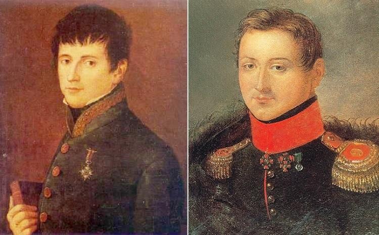 Рафаэль Риего и Сергей Муравьев-Апостол. И правда есть что-то общее